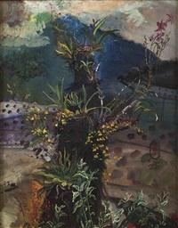 orchids in the wild by s. sudjojono