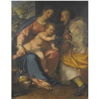 the holy family by giovanni battista paggi