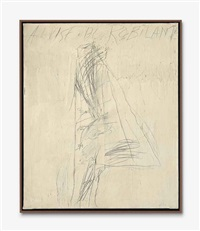 portrait of alvise di robilant by cy twombly