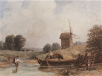 by the windmill by samuel austin