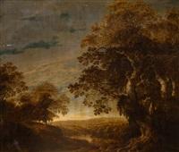 widok na dolinę od strony starego lasu by alexander keirincx