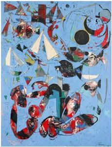 composition aux poissons by claude venard