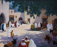 marché à fès by mohamed krich