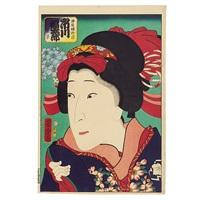 ichikawa fukutaro (oban tate-e) by utagawa yoshitora