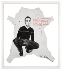 meat is murder - morrissey (the smiths) by jef aerosol