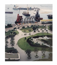 hong kong, grand hyatt park by andreas gursky