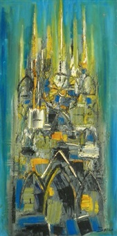 abstract painting by pierre bosco