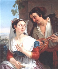 the duet by charles picque