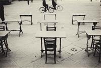 piazza della signoria, florence, italy, 1933 by henri cartier-bresson