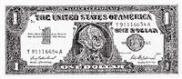 dollar bill by robert watts
