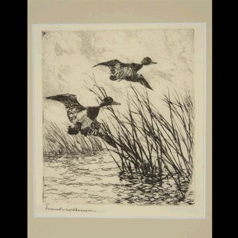pair of ducks by frank weston benson