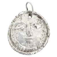 silver pendant visage/face by pablo picasso