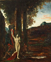 pasiphae by gustave moreau