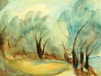 landscape by nachum gutman
