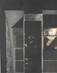 untitled, from aquatint and collage by louise nevelson