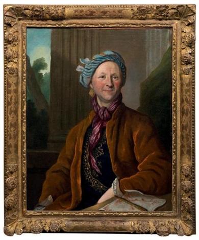 46348b9c1194 portrait d un dessinateur (+ portrait d homme portant un costume à la