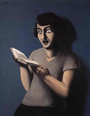 """Résultat de recherche d'images pour """"magritte,la lectrice soumise"""""""