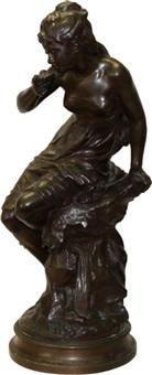 femme à la coquille by mathurin moreau