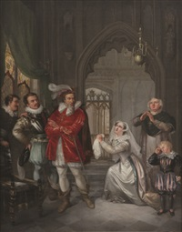l'abdication de mary stuart by ezechiel davidson