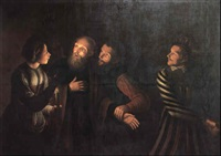 the denial of st. peter by georges de latour