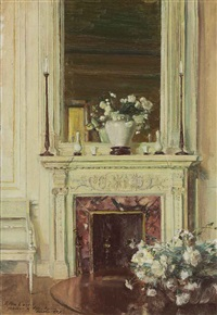 room in the villa sylvia by walter gay