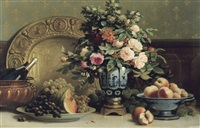 fruits et fleurs by edouard van den bosch