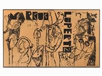 markus lüpertz (12 works) by markus lüpertz