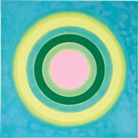 mysteries: aglow by kenneth noland