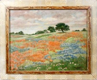poppy fields by kathe burkhart