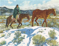trailing homeward by walter ufer