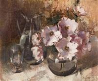 still life flowers by irmin henkel