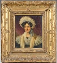 portrait de femme by johann nepomuk ender
