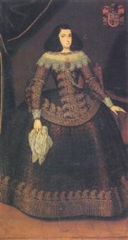 portrait of doña antonia de eguilaz del barco by juan amigo