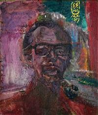 self-portrait by s. sudjojono