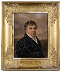 portrait de michel, marquis de pomereu (1779-1863) by henri-joseph hesse