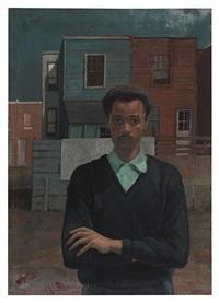 self portrait by louis b. sloan