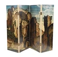 untitled folding screen by piero fornasetti