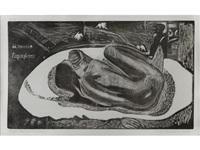 manao tupapau by paul gauguin