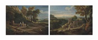 paysages italiens by jan frans van bloemen