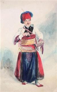 un turc by théodore valerio