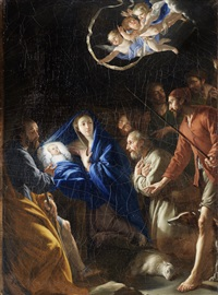 the adoration of the shepherds by philippe de champaigne