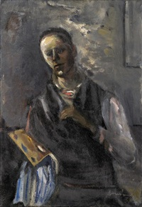 autoportrait by alfred aberdam