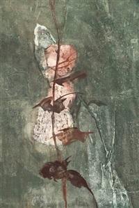bloemen, winter, spanje, plant (4 works) by jan van heel