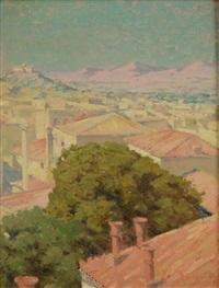 athens observatory by elmer ellsworth garnsey