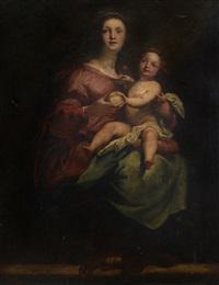 madonna con bambino by giovanni andrea ansaldo