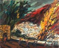 landscape by yitzhak frenkel-frenel
