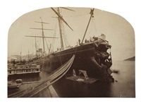 """arizona"" damaged by iceberg by john r. parsons"
