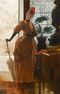 in the entrance hall by carl nys