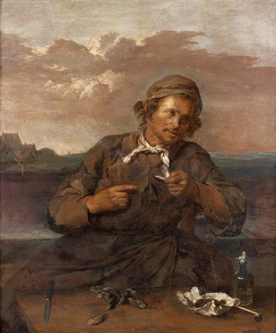 le mangeur de moules by frans hals the elder