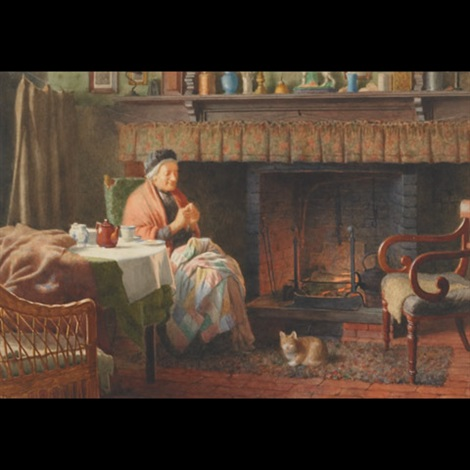 by the fireside by henry edward spernon tozer